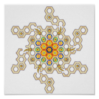 Cosmic Mandala 2 Poster