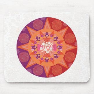 Cosmic mandala mouse pad