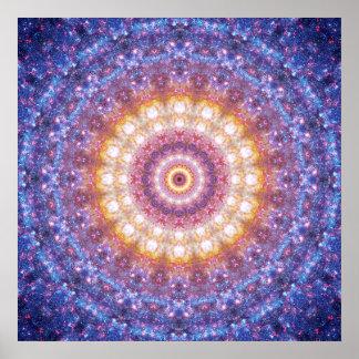 Cosmic Mandala Poster