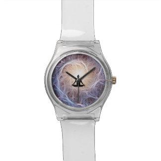 Cosmic Meditator in Fractal Spiral Watch