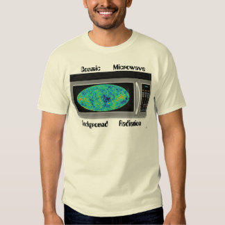 Cosmic Microwave Background Radiation Tee Shirt