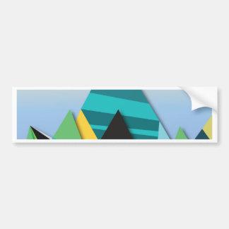 Cosmic Mountains No. 2.jpg Bumper Sticker