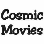 Cosmic Movies Embroidered Polo Shirt