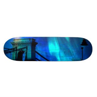 Cosmic Night in Budapest Skateboard