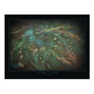 Cosmic Ocean Postcard