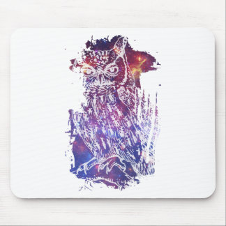 Cosmic Owl Mouse Pad