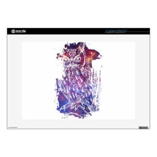 Cosmic Owl Skin For Laptop