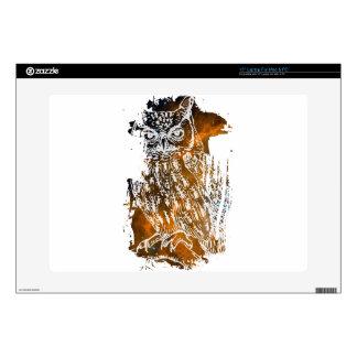 Cosmic Owl Laptop Decals
