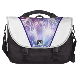 Cosmic Owl Triangle Commuter Bags
