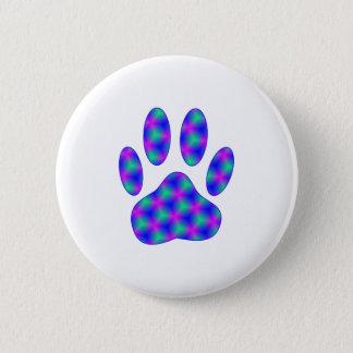 Cosmic Paw Print Button