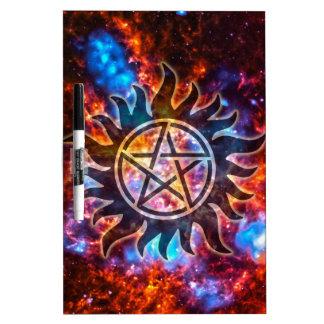 Cosmic Pentagram Dry Erase Board
