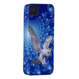 Cosmic Pictures And Owl 3D Look iPhone 4 Case