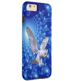 Cosmic Pictures And Owl 3D Look Tough iPhone 6 Plus Case