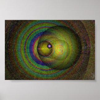 Cosmic Pillars post Poster