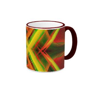 Cosmic pin ball coffee mug