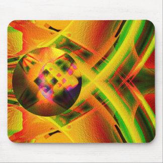 Cosmic pin ball mouse mat
