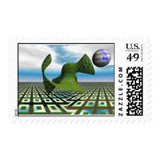 Cosmic Poodle - Stamp