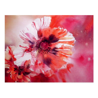 Cosmic Poppies Postcard