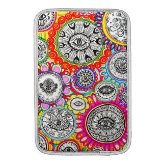 Cosmic Psychedelic Eyes MacBook Sleeves