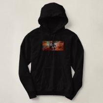 cosmic pueo hoodie