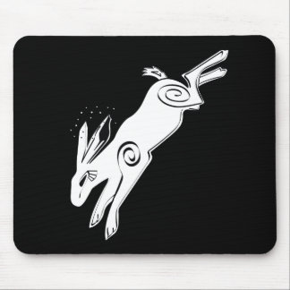 COSMIC RABBIT MOUSE PAD