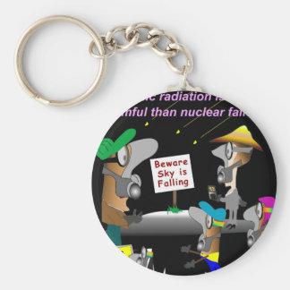 Cosmic Radiation Basic Round Button Keychain
