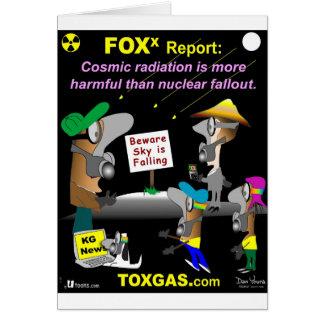 Cosmic Radiation Card