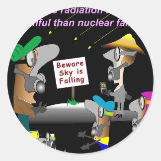 Cosmic Radiation Classic Round Sticker