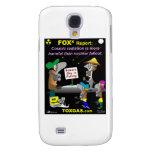 Cosmic Radiation Galaxy S4 Cases