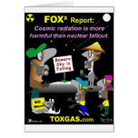 Cosmic Radiation Greeting Cards