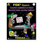 Cosmic Radiation Postcard