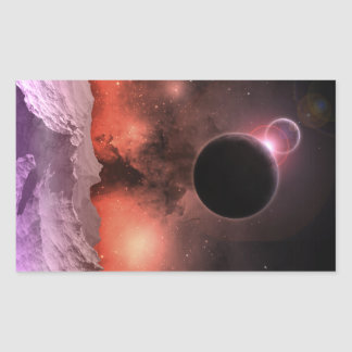 Cosmic Range #2 Rectangular Sticker