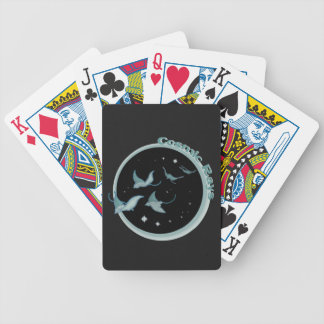 Cosmic Rays Bicycle Playing Cards