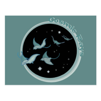Cosmic Rays Postcard