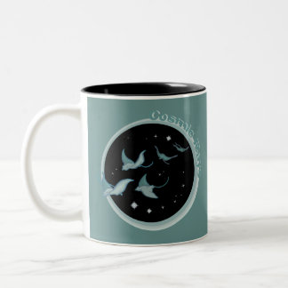 Cosmic Rays Two-Tone Coffee Mug