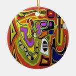 Cosmic Reality Christmas Ornament
