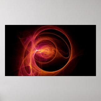 Cosmic Recursive Fractal Poster