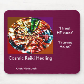 COSMIC REIKI HEALING MOUSE PAD