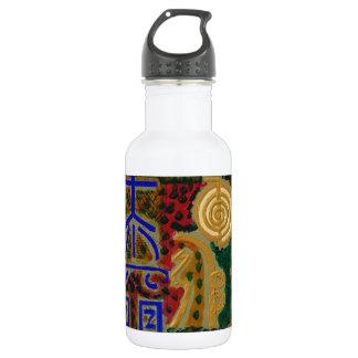 Cosmic Reiki Master Healing Art Symbols - TEMPLATE 18oz Water Bottle