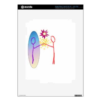 Cosmic Reunion: Fear_Feels_Love iPad 3 Decals