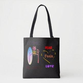 Cosmic Reunion: Fear Feels Love Totebag