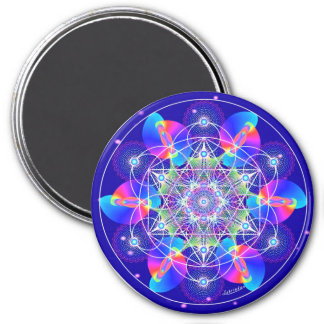 Cosmic Ripples Refrigerator Magnet