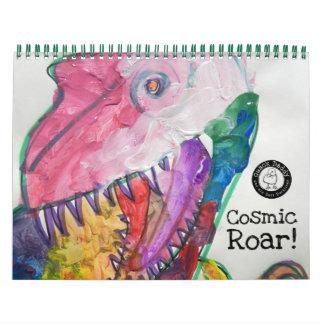 Cosmic Roar Calendar