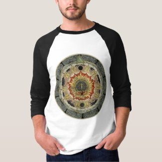 Cosmic Rose Alchemical Mandala T-Shirt