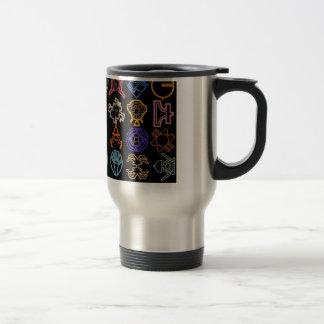 Cosmic Runes Travel Mug