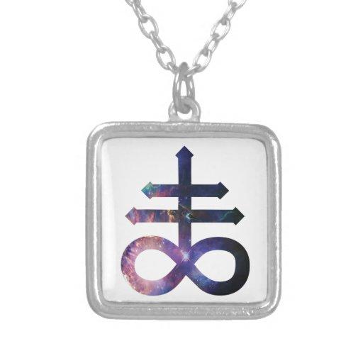 Cosmic Satanic Cross Pendants