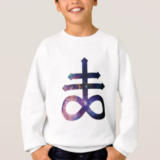 Cosmic Satanic Cross Sweatshirt