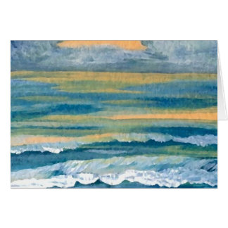Cosmic Sea - CricketDiane Ocean Art Products Card
