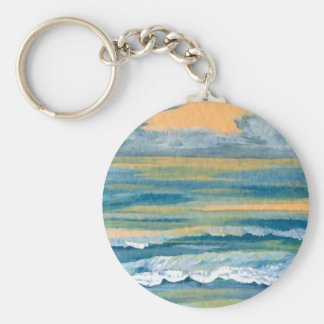 Cosmic Sea - CricketDiane Ocean Art Products Key Chain