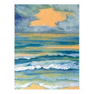 Cosmic Sea - CricketDiane Ocean Art Products Postcard